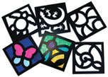 Stencils & Stained Glass Crafts