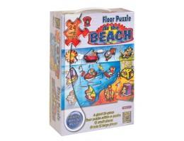 At The Beach Floor Puzzle (24 pc)