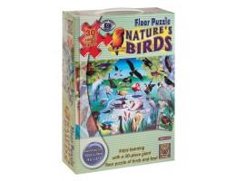 Nature Birds Floor Puzzle (30 pc)