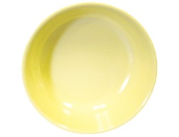 Melamine Round Serving Bowl 1 QT Yellow