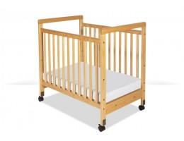 SafetyCraft Compact Fixed-Side Crib