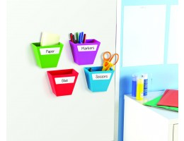 Magnetic Create-A-Space Bins (Set of 4)