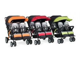 Quad Sport 4-Passenger Stroller