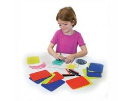 Teach Me Shapes: Rubbing Plate Shapes