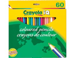 Regular Coloured Pencils 60CT