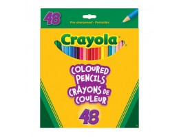 Regular Coloured Pencils 48CT