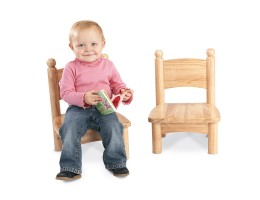 "Wooden Chair Pairs - 7"" Seat Height"