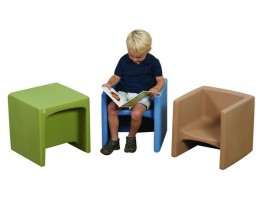 Molded Seating Woodland Colours