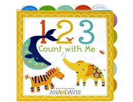 123 Count With Me Board Book