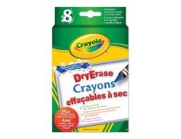 Dry Erase Washable Crayons - Originals 8ct