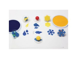Giant Stampers, Weather, 6/pkg