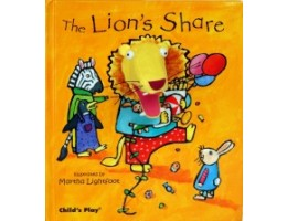 Finger Puppet Book: The Lion's Share