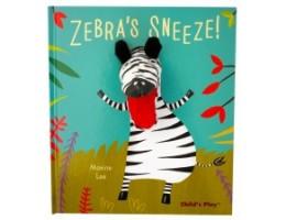 Pardon Me! Zebra's Sneeze