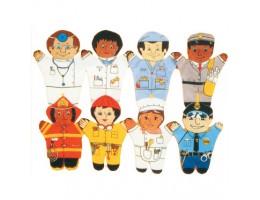 Community Helper Hand Puppets