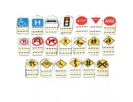 Traffic Signs Finger Puppets