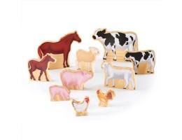 Wedgies Farm Animals Set
