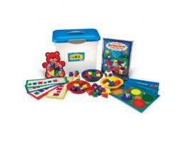 Three Bear Family Sort, Pattern & Play Activity Set