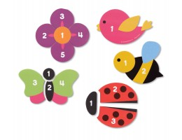 Learning Essentials Magnetic Counting Garden Puzzles**