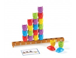 Learning Essentials 1-10 Counting Owls Activity Set
