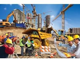 Construction Zone Floor Puzzle (48 pc)