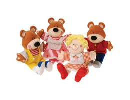 Goldilocks and the 3 Bears Puppets