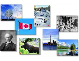 Historical Canada Language Cards
