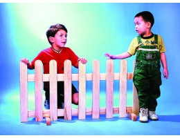 Picket Fence Room Divider