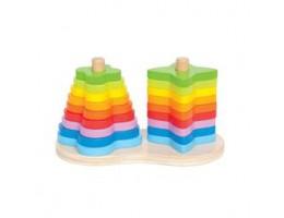 Double Rainbow Stacker