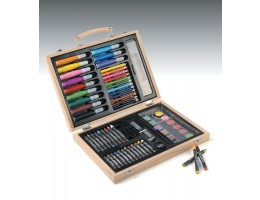 68-Piece Art Set in Carry Case