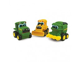 Johnny Tractor & Friends Soft Vehicles