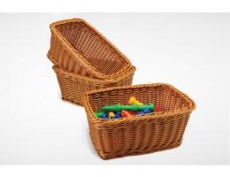 Matching Rectangular Woven Baskets