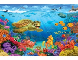 Ocean Reef Floor Puzzle (36 PC)