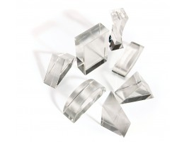Perspex Prisms (Set of 7)