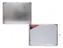 Magnetic Whiteboard with tray 24 x 18""