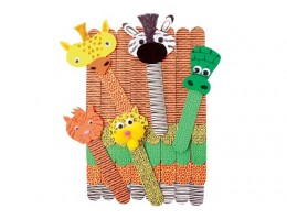 Wild Animal Craft Sticks