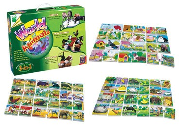 World of Animals 3-in-1