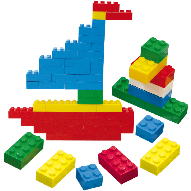 Jumbo Building Bricks (1,000 Pcs)