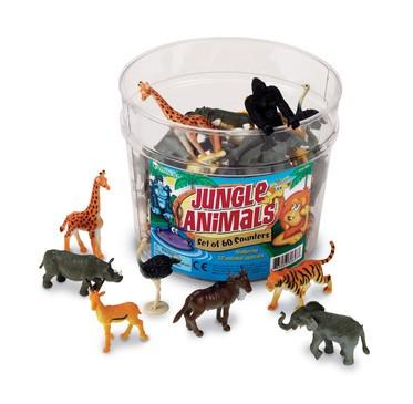Jungle Animals Pack of 60