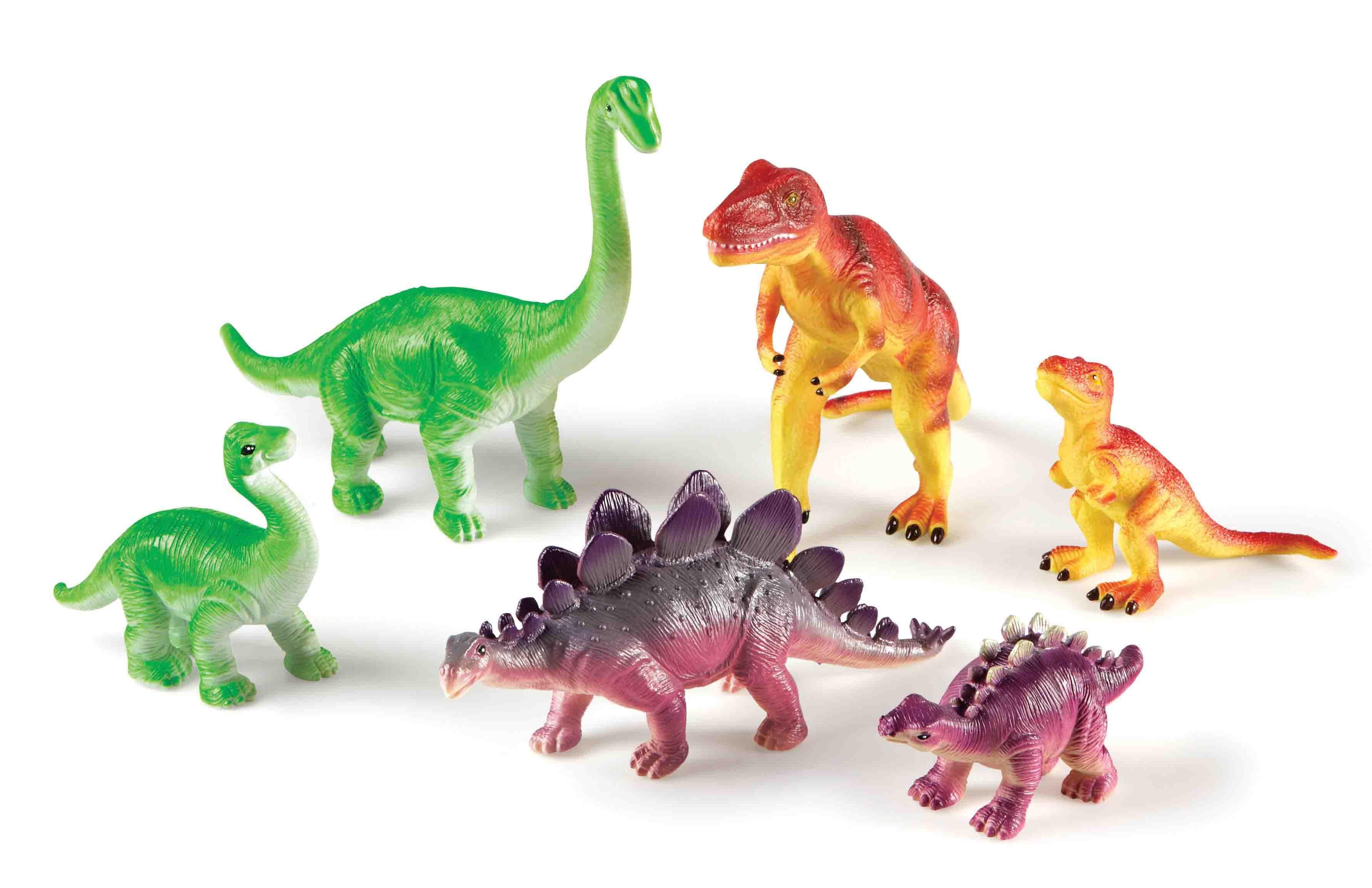 Jumbo Dinosaurs: Mommas & Babies