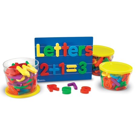 Jumbo Magnetic Letters and Numbers Combo