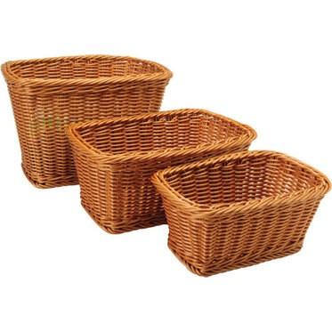 Rectangle Woven Baskets