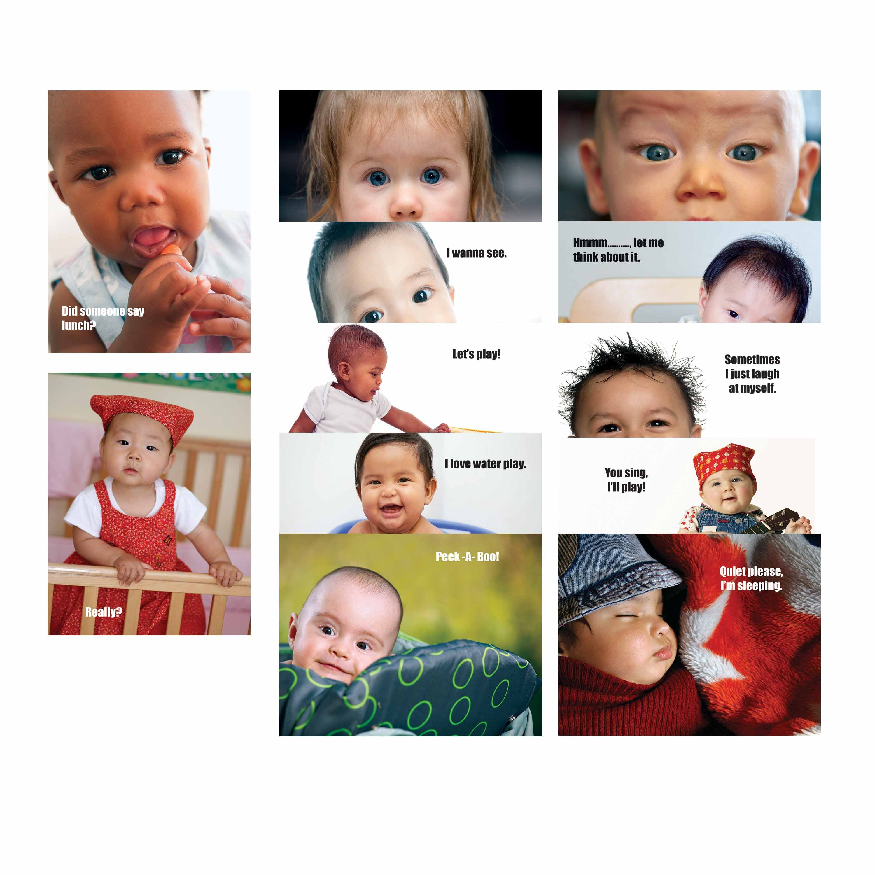 Baby Talk Poster Set