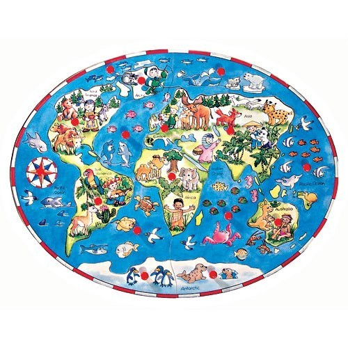 Children Around the World Wooden Puzzle