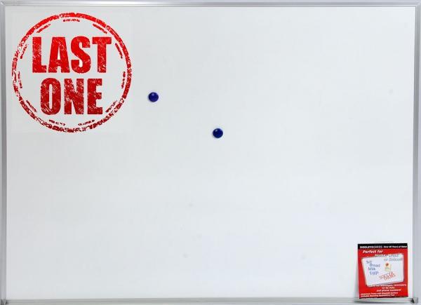 Aluminum Framed Magnetic Marker Board 36x48