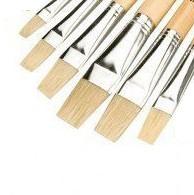 Artist Brushes, Set of 6