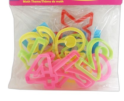 Play Dough Press Moulds Numbers (15)