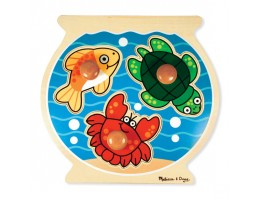Jumbo Knob Puzzle Fish Bowl