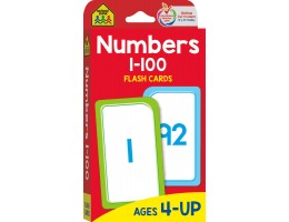 Numbers 1 -100 Flash Cards