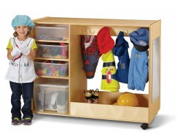 Dress-Up Center with Bins