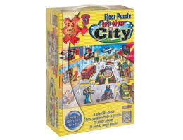 In The City Floor Puzzle (24 pc)